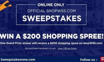 ShopWSS February Shopping Spree Giveaway