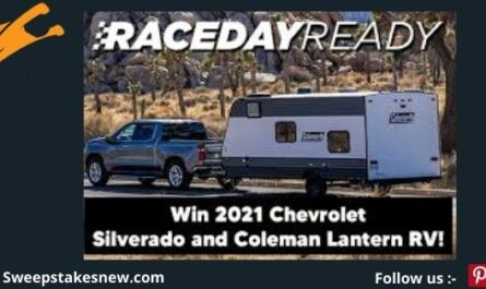 Nascar Chevrolet Race Day Ready Sweepstakes