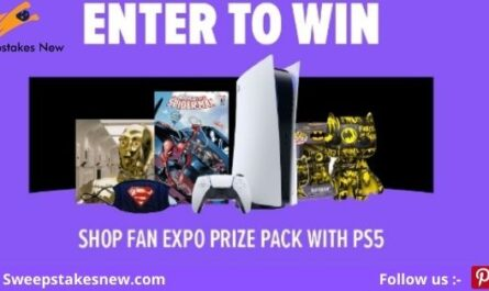 Shop FAN EXPO Prize Pack With PS5 Giveaway