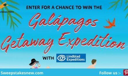 Galapagos Getaway Expeditions Sweepstakes 2021