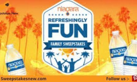Niagara's Refreshingly Fun Family Sweepstakes