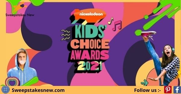 Nick Kids' Choice Awards Sweepstakes 2021