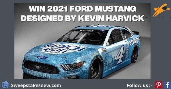 Busch NASCAR Mustang Giveaway 2021