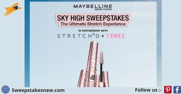Maybelline Sky High Sweepstakes 2021