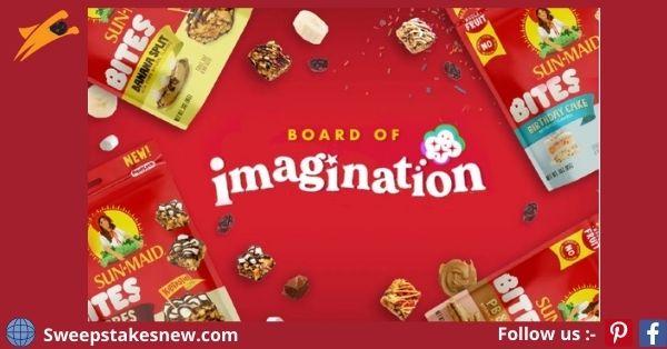 Sun-Maid Board of Imagination Contest 2021
