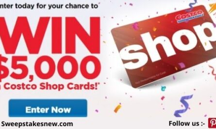 Costco Shop Cards Contest Sweepstakes