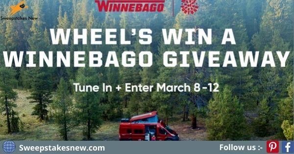 Wheel of Fortune Winnebago Giveaway 2021