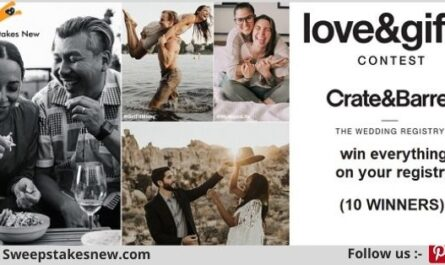 Crate&Barrel Share the Love Sweepstakes