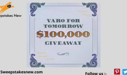 Varo For Tomorrow Emergency Fund Sweepstakes
