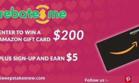 RebatesMe Valentines Day Sweepstakes