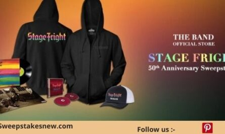 Stage Fright 50th Anniversary Sweepstakes