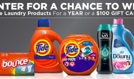 P&G Tide Sweepstakes