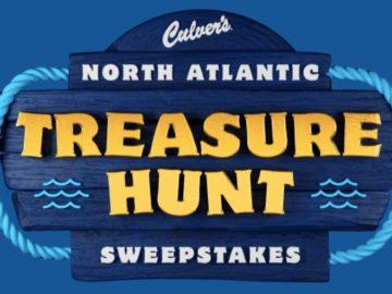 Culver's North Atlantic Treasure Hunt Instant Win Game