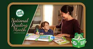 LeapFrog National Reading Month Sweepstakes