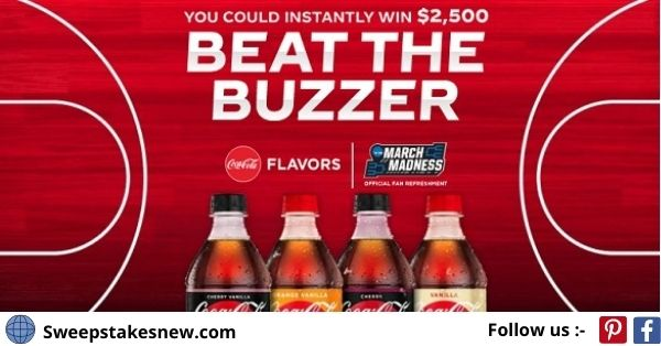 Coca Cola Beat the Buzzer Instant Win Game