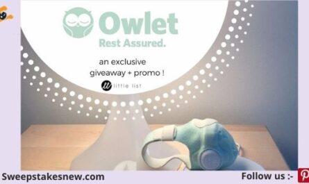 Owlet Smart Sock Giveaway