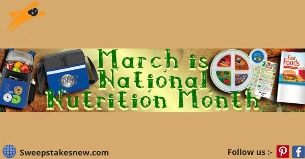 National Nutrition Month Giveaway