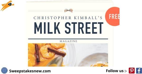 177 Milk Street March 2021 Giveaway