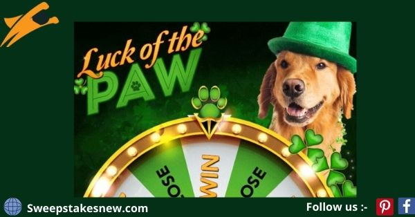 Pet Supermarkets Luck of the Paw Instant Win Game