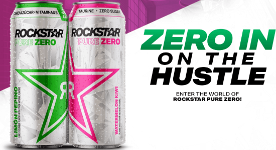 Rockstar Pure Zero In On The Hustle Sweepstakes