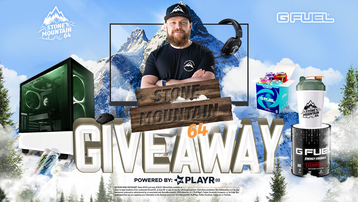 Gfuel StoneMountain64 Gaming PC Giveaway