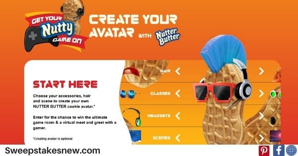 Nutter Butter Get Your Nutty Game Sweepstakes