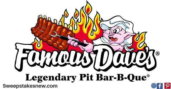 Famous Dave's Free Ribs for a Year Giveaway