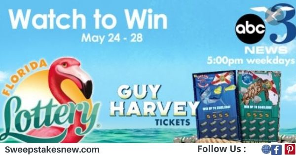 WEAR And Florida Lottery Guy Harvey Watch To Win Contest