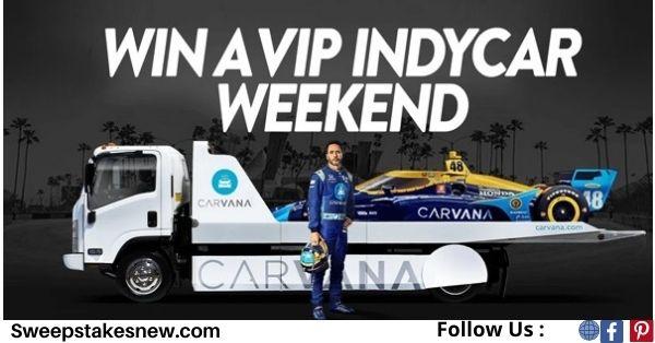 Carvana Racing Vacation Sweepstakes