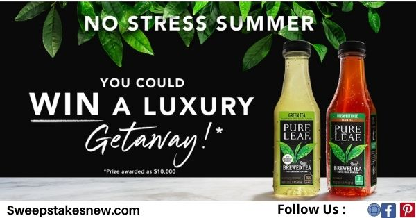Pure Leaf No Stress Summer Sweepstakes