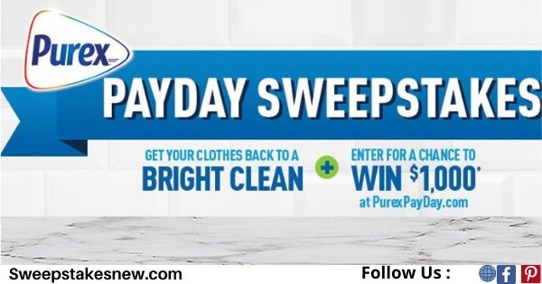 Purex PayDay Sweepstakes
