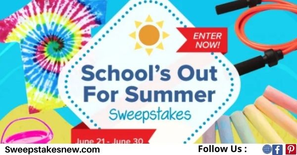 Bostitch School's Out for Summer Sweepstake