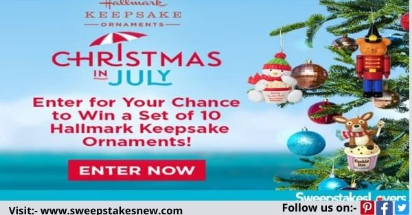 Hallmark Channels Keepsake Ornament Giveaway
