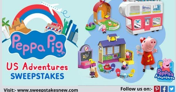 Nick Jr Peppa Pigs US Adventures Sweepstakes