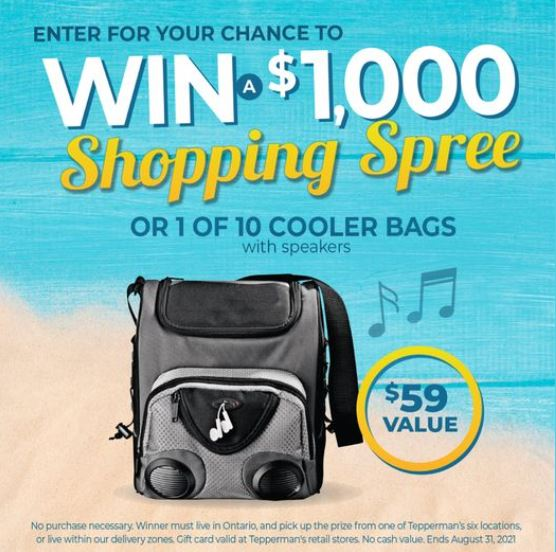 Teppermans Shopping Spree Contest