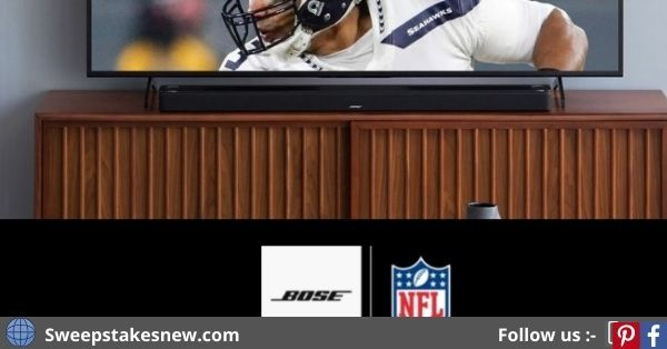 Bose X NFL Fan Cave Upgrade Official Sweepstakes